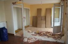 Travaux demolition cloison